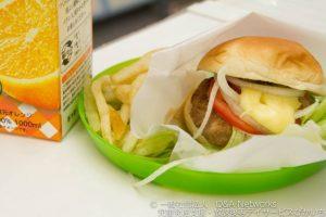 ハンバーガーをつくろう!②