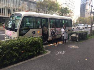 千代田のさくらまつり・さくらカルガモ号②