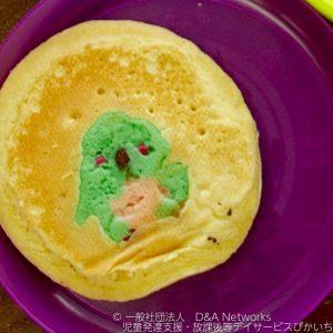 パンケーキアートをしよう!